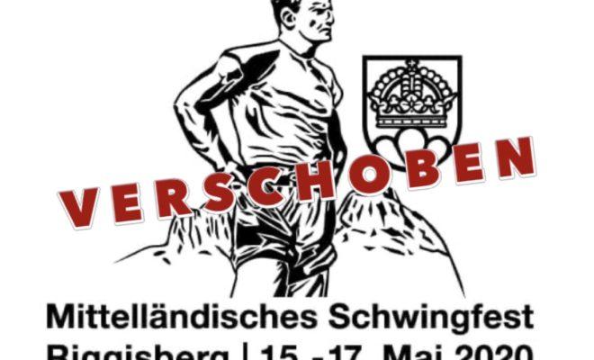 Das Mittelländische Schwingfest in Riggisberg wird auf Mai 2021 verschoben